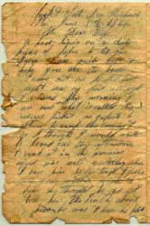 Soldier's Last Letter - by Wesley Sims