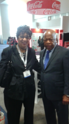 Eva Johnson and John Lewis